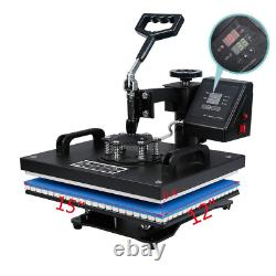 10 in 1 Combo Heat Press Machine Sublimation Heat Transfer Machine For T-Shirt