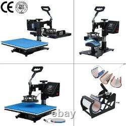 10 in 1 Combo Heat Press Machine Sublimation Heat Transfer Machine For T shirts