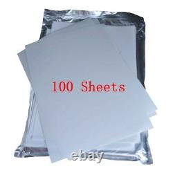 100 Sheets A4 Size Heat Transfer Film for 3D Sublimation Heat Press Machine