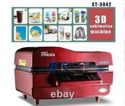 1PCS 3D Sublimation Heat Press Machine Transfer for Phone Cases Mugs Cups 220V