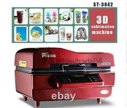 220V 3D Sublimation Heat Press Machine Transfer for Phone Cases Mugs Cups