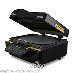 220V 3D Sublimation Heat Press Machine for Phone Cases Mugs Cups Heat Transfer
