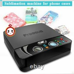 3D Sublimation Printer Heat Transfer Printing Machine 3D Vacuum for phone cases