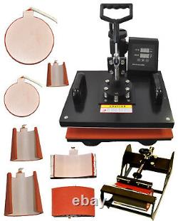 8in1 Sublimation Heat Transfer Press 13x19 Large Format Wireless Printer CIS Kit