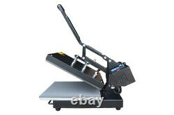 Clamshell Heat Press Machine Transfer Sublimation 15x15inch for Cloth T-Shirt