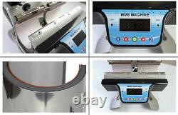 Double Station Heat Press Transfer Sublimation Machine Digital for Cup Mug Gifts