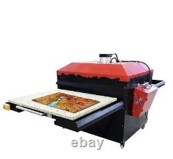 Large Heat Press Commercial Sublimation Transfer Machine Double Bed Industrial