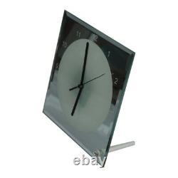US 20pcs 7.8x7.8 Sublimation Transfer Blank Glass Photo Frame with Clock