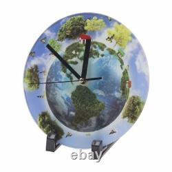 US 7x7 20pcs Sublimation Transfer Blank Glass Photo Frame with Glossy Clock