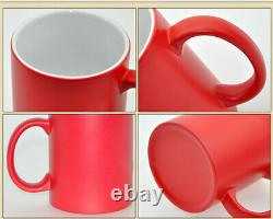 11oz Blank Sublimation Transfer Mugs Magic Full Color Changing Cup Heat Press
