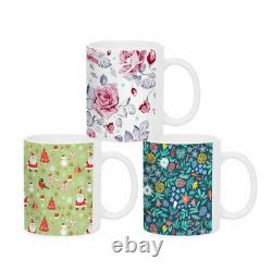 36 Tasses Blanches De Sublimation Vierge 11oz Grade Aaa Heat Transfer Ceramic Coated Mugs