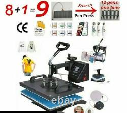 Combo Heat Press Machine Sublimation Transfer Equipment For Commercial Used Tool