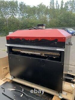Grande Presse Thermique Commercial Sublimation Transfer Machine Double Bed Industrial