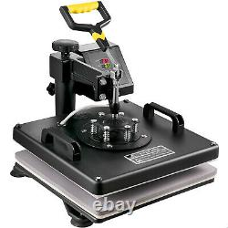 Imprimante Sublimation 15x15 T-shirt Heat Press Transfer 6in1 Combo Swing Away